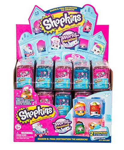 Shopkins Season 8 World Vacation (Americas) 2-Pack - Case of 30 by Shopkins