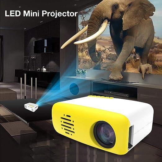 Rlorie Proyector, LCD Teléfono Móvil HDMI USB Espejo Interfaz De ...
