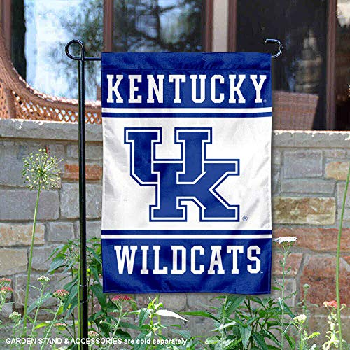 College Flags and Banners Co. Kentucky Wildcats Garden Flag