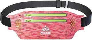 Forbestest Unisex Multifunzione Elastico Esecuzione di Jogging Vita insacca antifurto Sport Camping Escursionismo Fitness Belt Pouch
