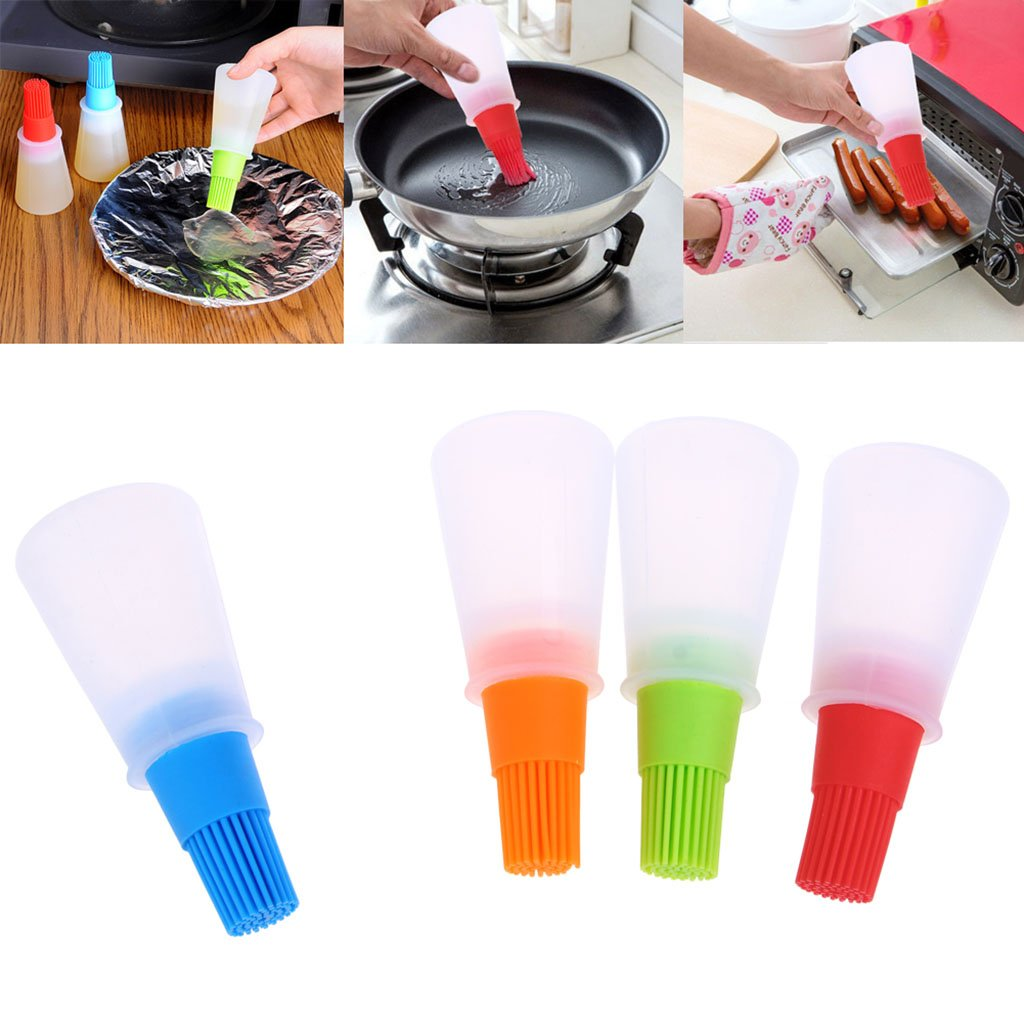 herramienta de cocina Abcidubxc Brocha para aceite de miel botella de silicona