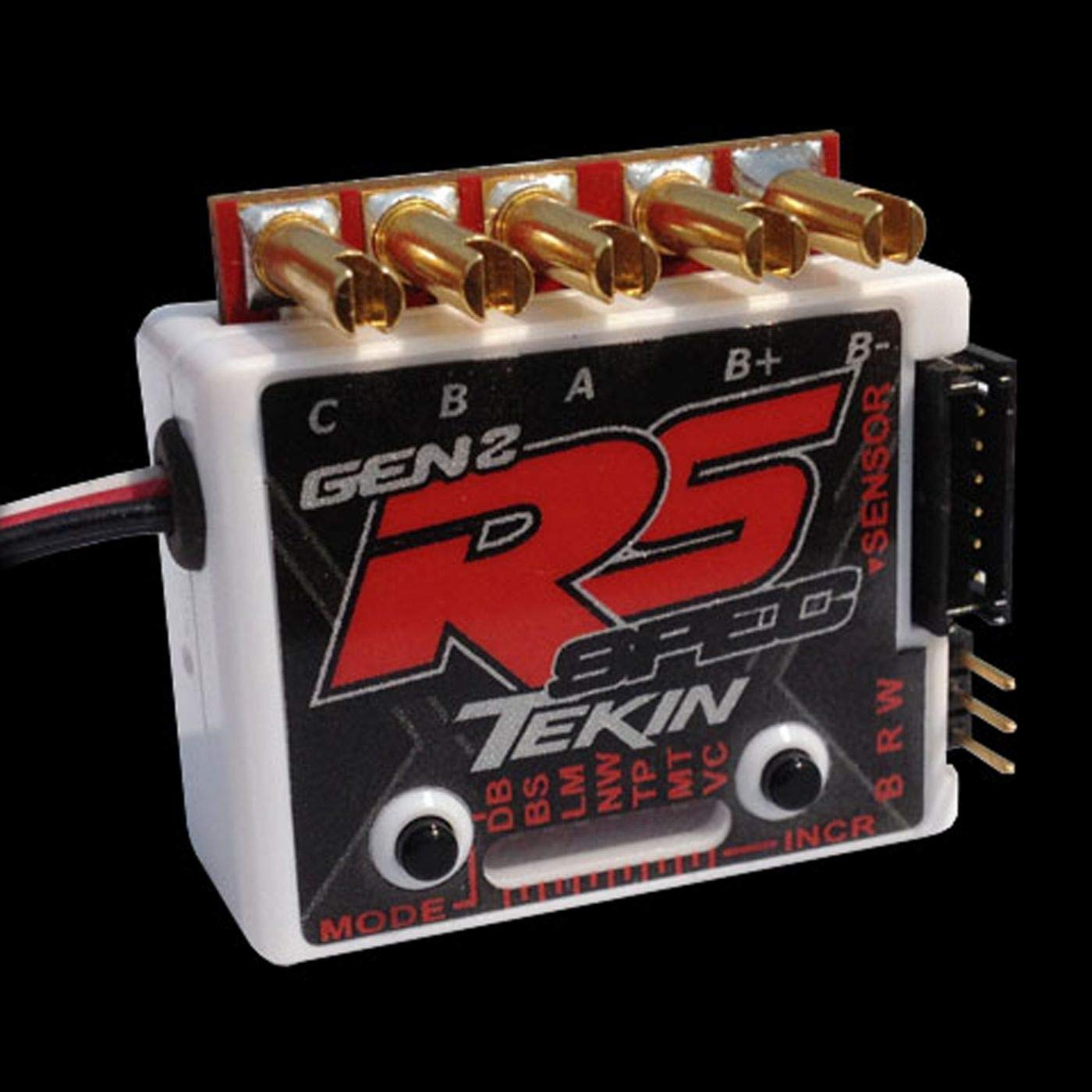 Tekin Racing TT1155 RS Gen2 Spec Sensored/Sensor Less D2 ESC 13.5 Turn Limit