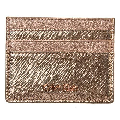 Calvin Klein Marissa Cardholder Womens Purse Gold