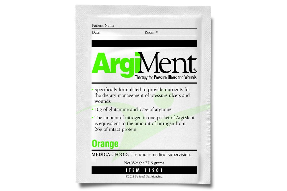 Medtrition | ArgiMent Essential Nutrients for Pressure Ulcers & Wounds (Orange) (40)