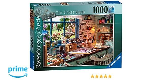 Ravensburger - Juego de Rompecabezas de 1000 Piezas, El Oficio Shed (19590): Amazon.es: Juguetes y juegos