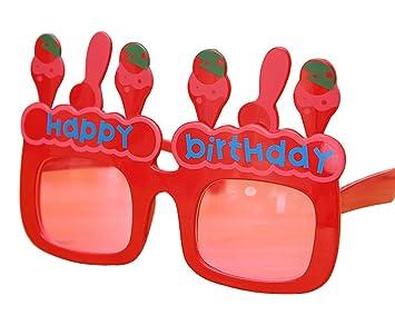 Fiesta de cumpleaños Gafas Torta Globo Conejo Disfraz Fiesta ...
