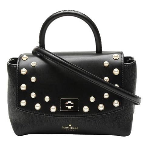 Kate Spade New York Shonna Serrano Place Pearl Crossbody Handbag (Black)