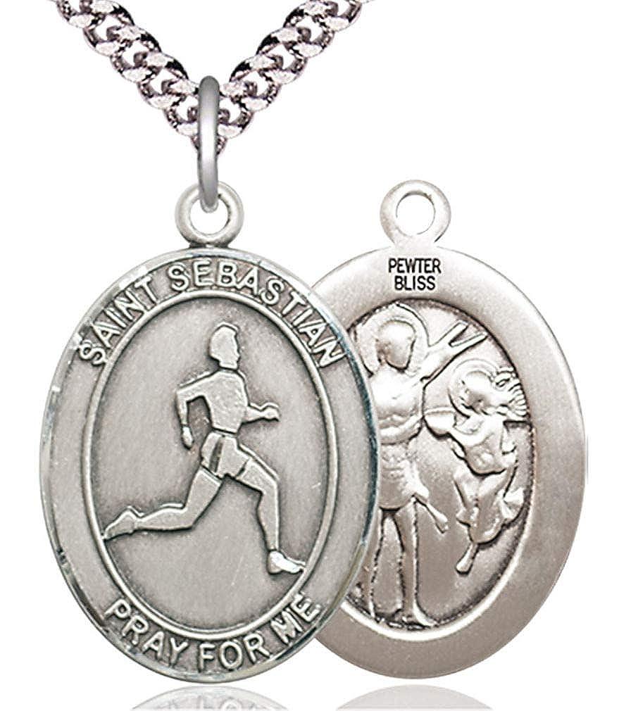 Amazon.com: Heartland Store - Medalla ovalada de peltre para ...