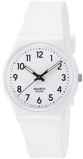 4ee28a8cdcb7 Swatch Reloj Digital de Cuarzo para Mujer con Correa de Silicona - GW151O   Amazon.es  Relojes