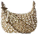 Mary Frances Mini 324 Sea Of Pearls Cross Body,Ivory,One Size, Bags Central