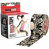 RockTape Kinesiology Tape for Athletes - 2 Inch x 16.4 Feet (Tattoo)