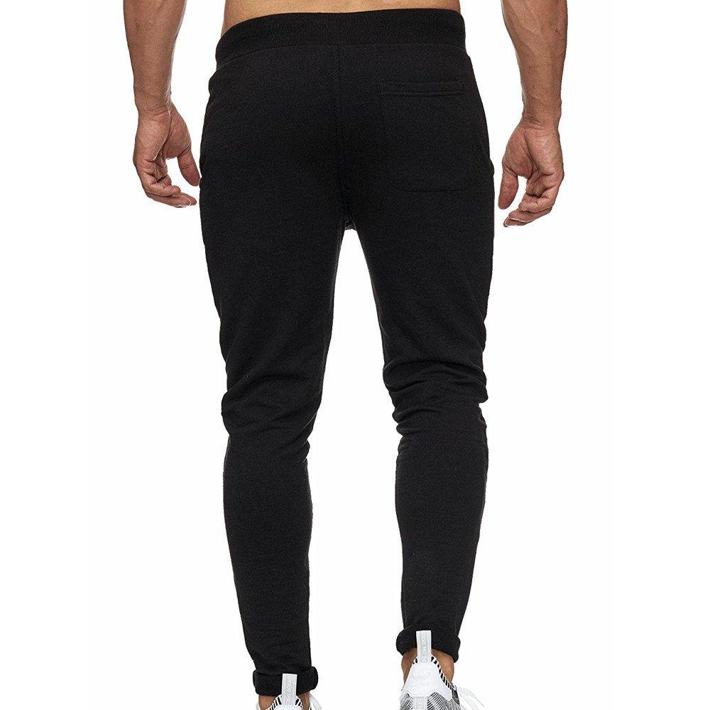 Spbamboo Mens Slim Fit Pockets Casual Pocket Sport Work Zipper Trouser Pants by Spbamboo (Image #3)