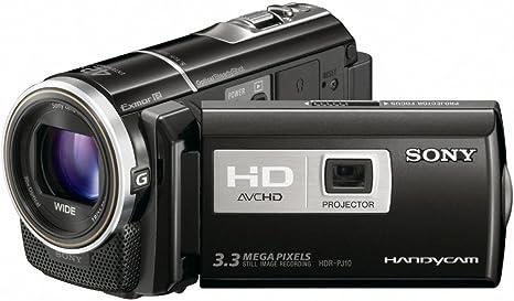 Sony HDR-PJ10E - Videocámara Memoria Flash Integrada 16 GB: Amazon ...