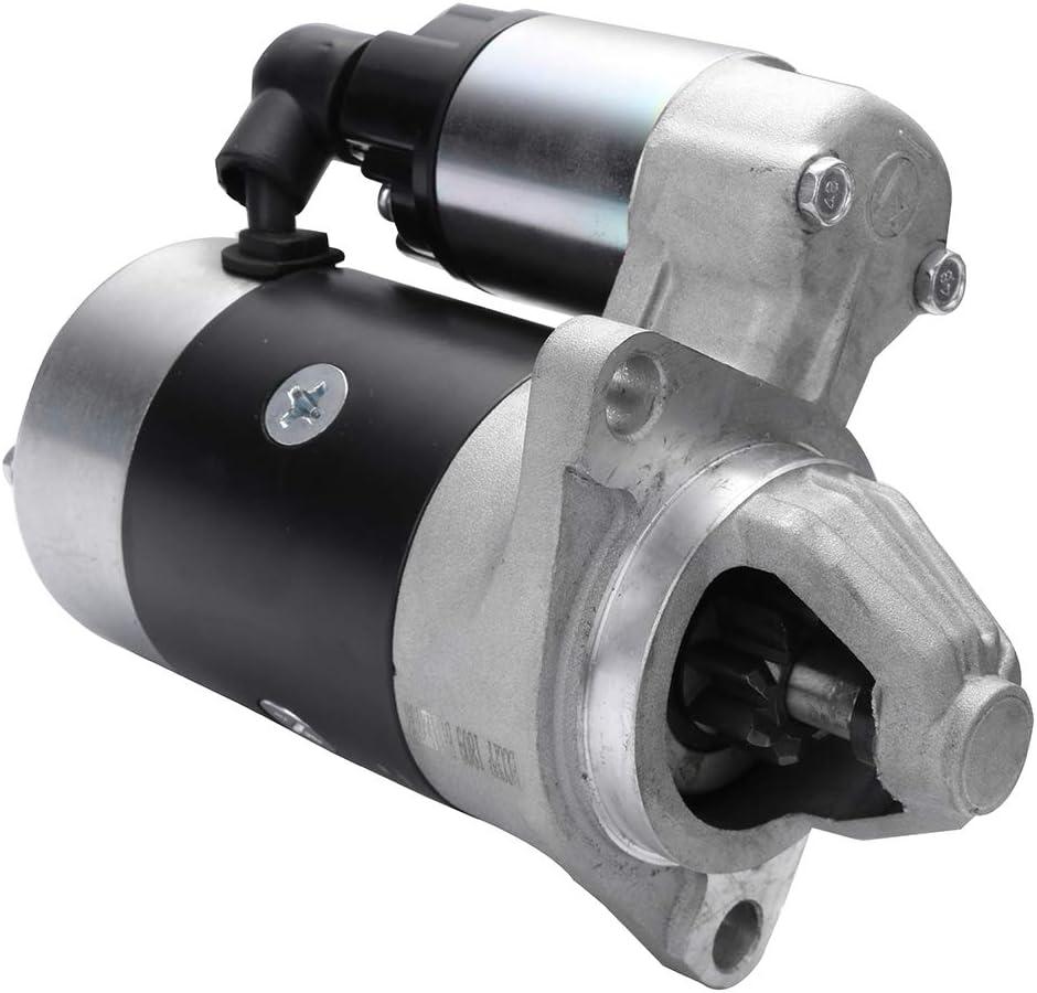 FreieFahrt 18203 Starters Fit for Dynapac Compactor LH300 Various for Yanmar 2000-2009 Etnyre Misc. Equipment XL20 L100AE-DE for Yanmar Eng 1996-2005