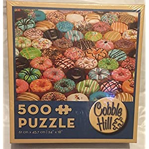 Doughnuts 500 Piece Puzzle By Cobble Hill Puzzle