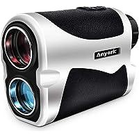 Anyork 6X Golf Rangefinder - 1500 Yard Laser Range Finder Small with Slope On/Off Pinsensor Flag-Lock Tech - Laser Binoculars - with Battery