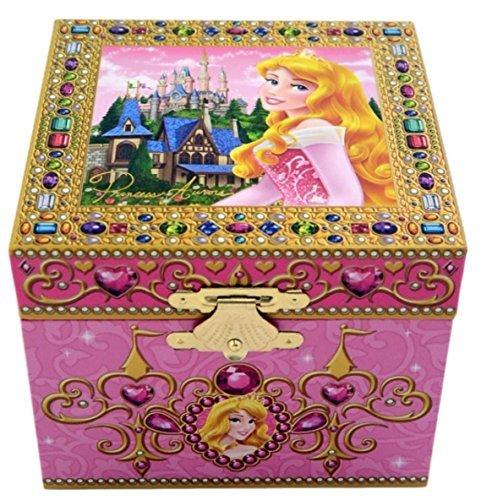 - Disney Park Sleeping Beauty Aurora Musical Jewelry Box NEW