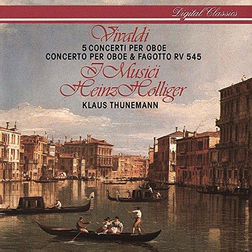 (Vivaldi: 6 Concertos for Oboe & Strings)