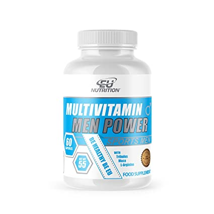 EU Nutrition Multivitamin Men Power - 60 Cápsulas