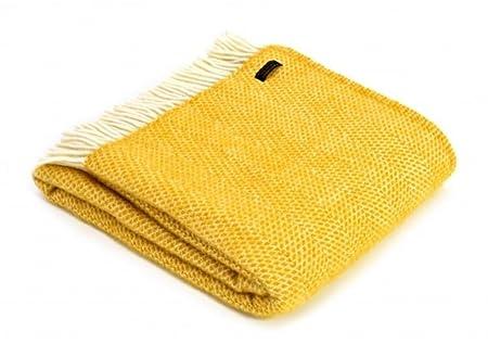 Mustard Yellow Throw Blanket Inspiration Tweedmill Textiles 60% Pure Wool Blanket Beehive Throw Design In
