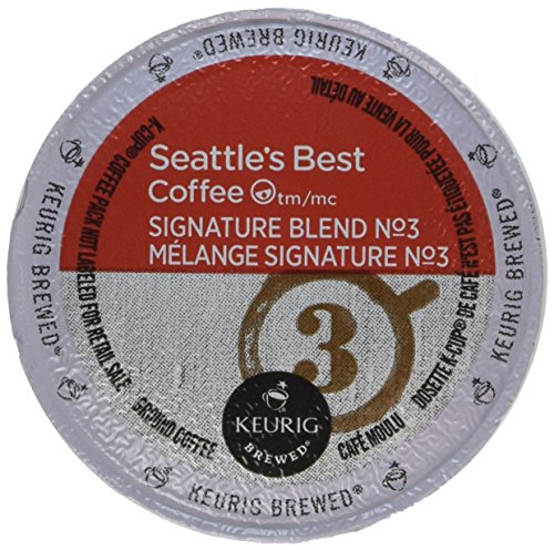 Seattle's Best Coffee, Signature Blend No. 3, Keurig Brewed, Box of 10 K-Cup Packs Each