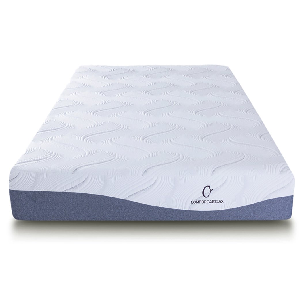 Cr Sleep Memory Foam Mattress with Gel-Infused AirCell Technology - 11-Inch - Full