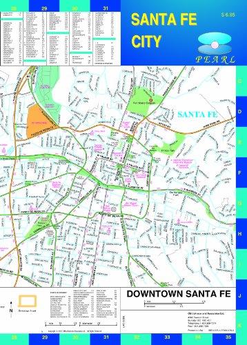 Santa Fe City NM Pearl (Laminated)