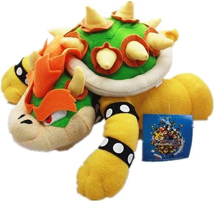 Amazon Com Super Mario Bros King Bowser Koopa Plush Stuffed Doll