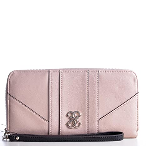Guess Cartera Paxton Largo Zip Around 59 SWVG4915460 Crudo NUD Billetera Damas