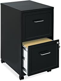 Lorell Mobile File Cabinet, 18 Inch