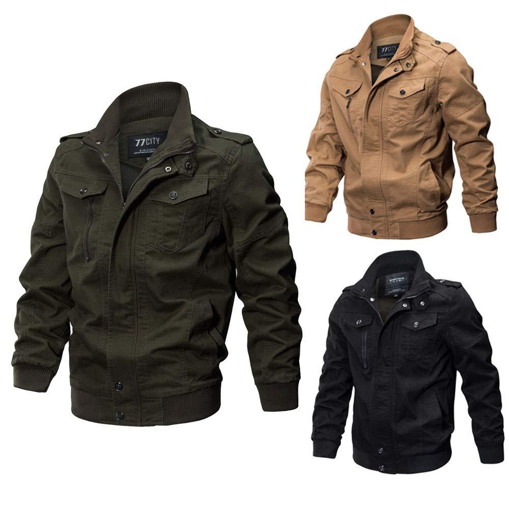 Amazon.com: PASATO Mens Clothing Jacket Coat Military Clothing Tactical Outwear Breathable Coat: Clothing