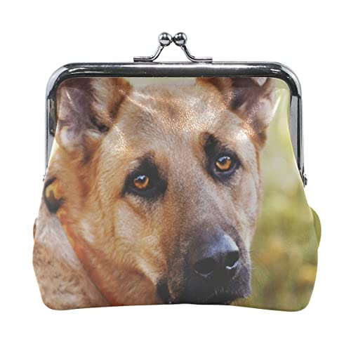 74d1d6aa08d4 Amazon.com: Rh Studio Coin Purse Dog Eyes Sadness Print Wallet ...