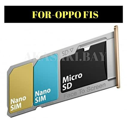 Sim Slot Tray for Oppo F1S -Golden: Amazon in: Electronics