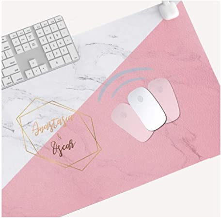 Warm Table Mat Oversized Heating Mouse Pad Office Computer Desktop Student Writing Pad 15 Seconds Fast Heating Waterproof and Leakproof Intelligent Timing Color : G