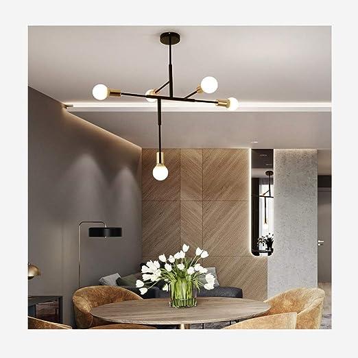 WWBOX Lámpara Colgante LED Minimalista para Oficina, lámpara ...