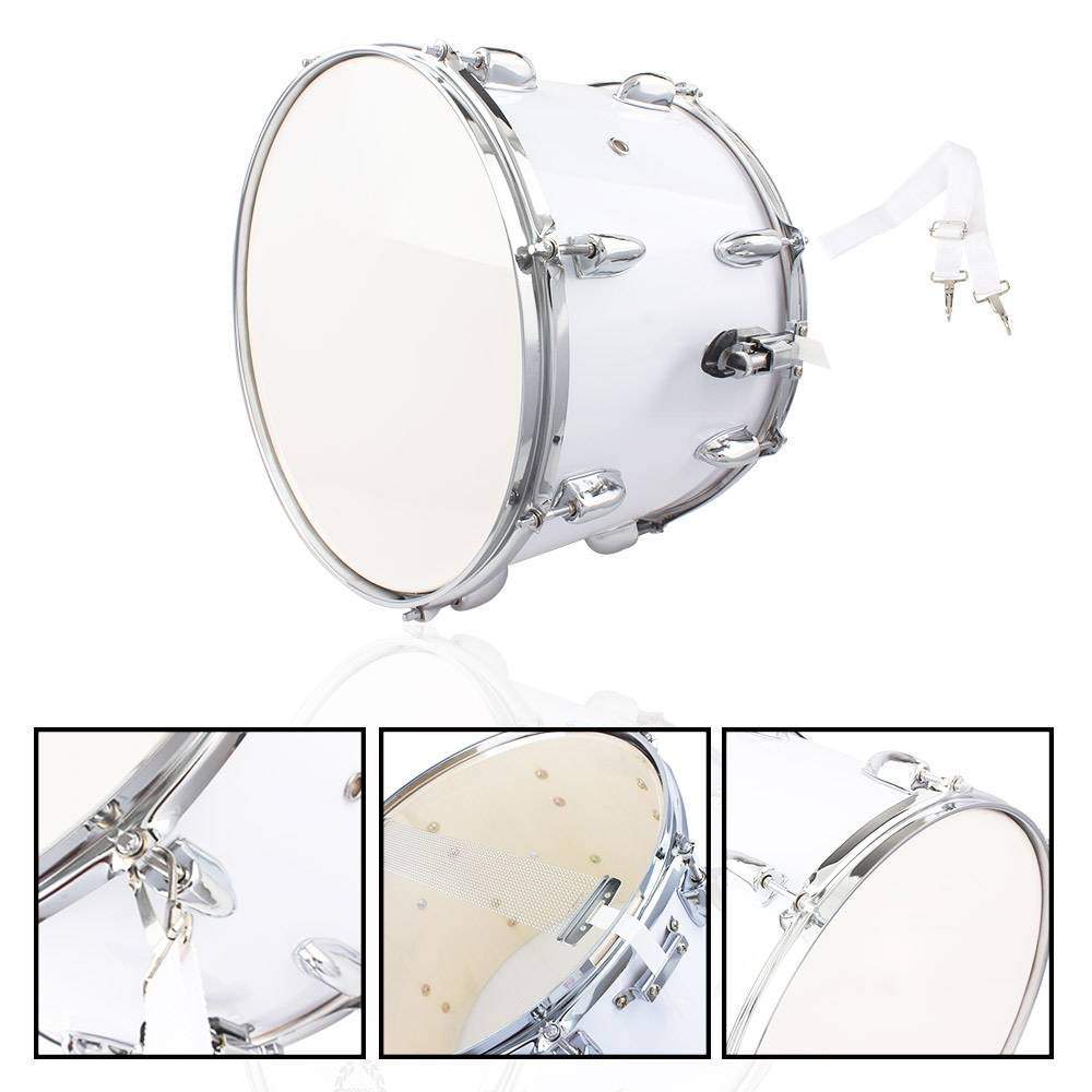 SHUTAO 14 x10 inches Marching Drum Drumsticks Key Strap White by SHUTAO (Image #2)