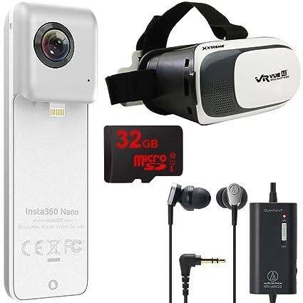 Amazon Com Insta360 Nano Vr Camera Iphone 6 7 W Vr Viewer 32gb
