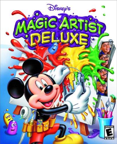 Disney's Magic Artist Deluxe and Disney's Magic Artist 3D (2 Pack) (輸入版) B00005LBW1