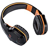 [Upgrade Version Bluetooth Gaming Headset] TurnRaise Wireless Bluetooth 4.1 Stereo Over-the-Head PC Gaming Headphones Headsets w/ Mic, Noise-cancelling, Volume Control & NFC for Laptop PC and More