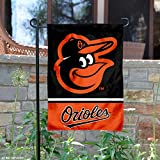 Baltimore Orioles Double Sided Garden Flag