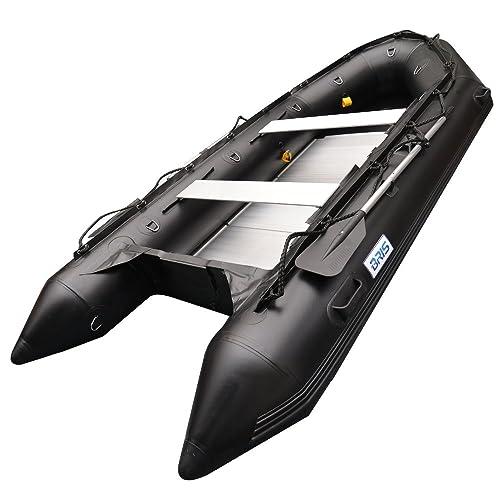 BRIS 1.2mm PVC 12.5 ft. Inflatable Boat