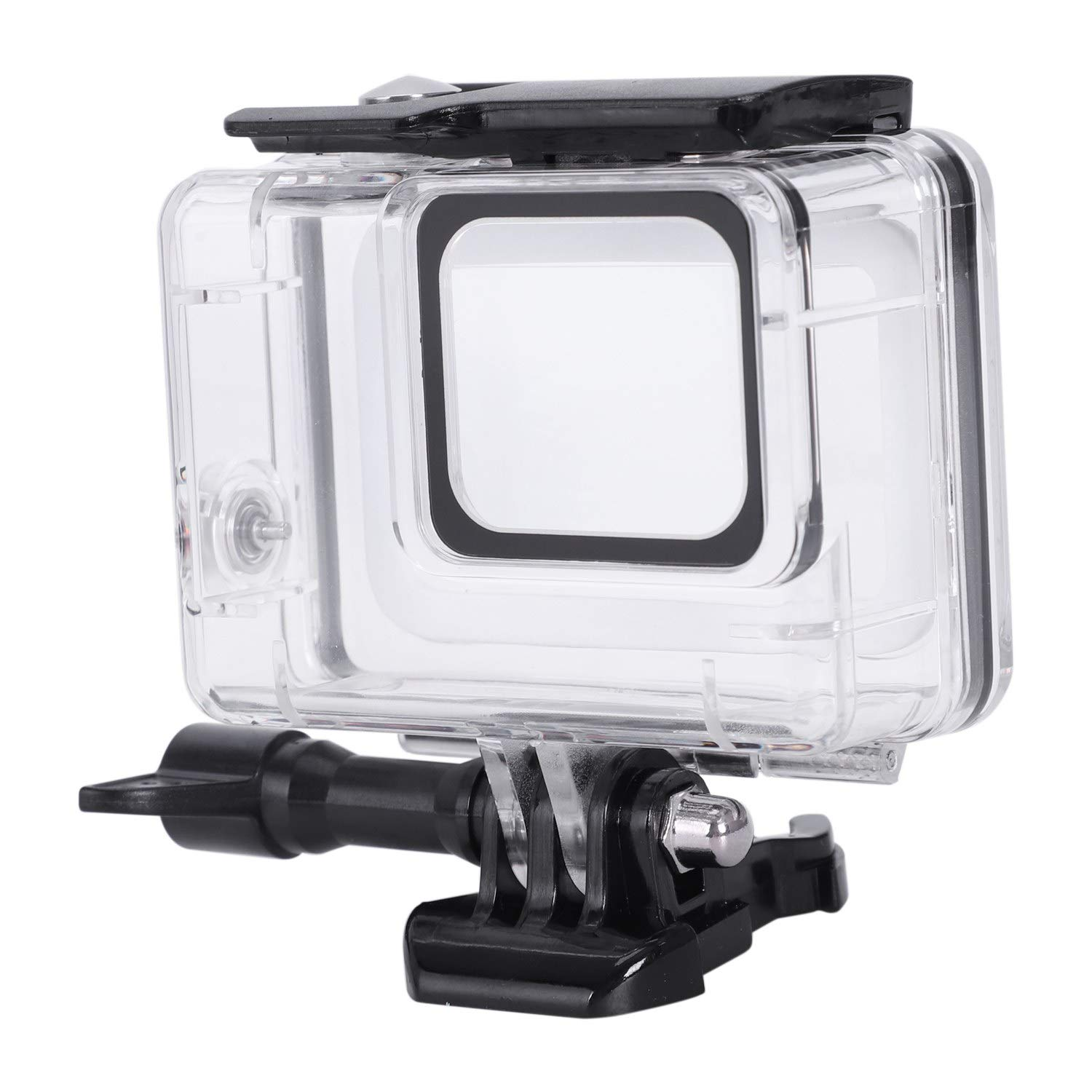 Protective 45m Underwater Dive Case Shell with Bracket Accessories for Go Pro Hero7 Action Camera Iycorish Waterproof Housing for Hero7 White and Hero7 Silver