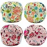 Swim Diapers 2 Pcs One Size Reusable & Adjustable