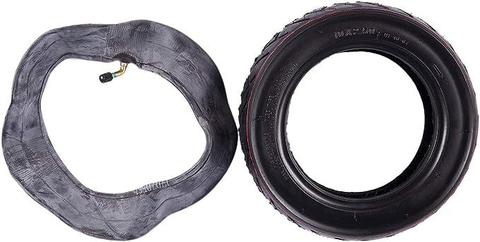WOVELOT 10X2.5 Ruota Anteriore//Posteriore Motorino Solido con Sostituzione della Camera dAria per Pneumatico di Ricambio Sostitutivo del Pattino Elettrico Un 10 Pollici del Pattino