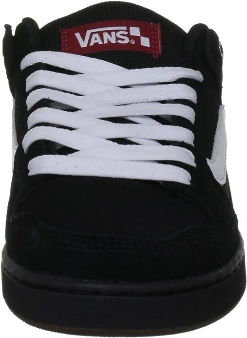 Vans Herren M BAXTER BLACKWHITEGUM Sneaker
