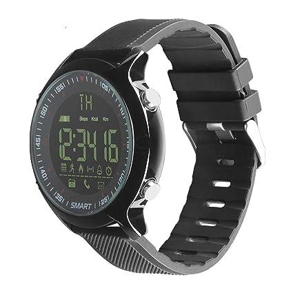 NICREB Reloj Inteligente Impermeable Ip68 5Atm Pasómetro ...