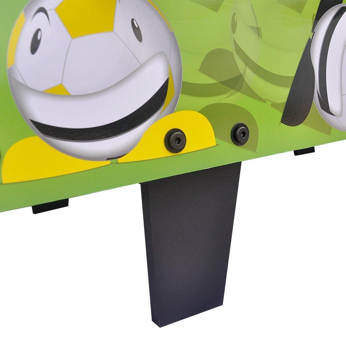 HLC 3 ft (92 * 46.2 * 26 cm) mesa fútbol mesa kiker para niños ...