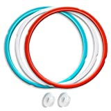 Silicone Sealing Ring, 3 Pack, Savory Sky Blue