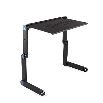Ajustable soporte para portátil escritorio, portátil de pie cama ...