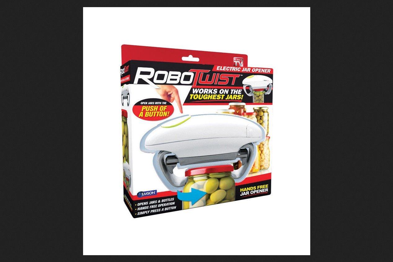 Robotwist 1014 Automatic, Adjustable Easy Open Jar Opener (Pack of 6)